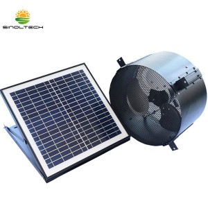 Support mural solaire Ventilateur