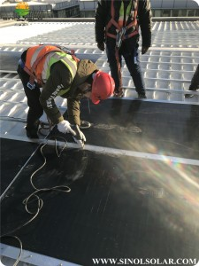 340W.350W.360W.370W FLEX-03M-2.6M CIGS Flexible Solar Panel