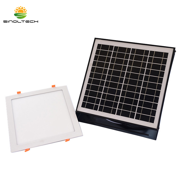 Solar Powered LED Ceiling Light Featured Image