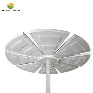 Fan Shape All In One Solar Garden Light