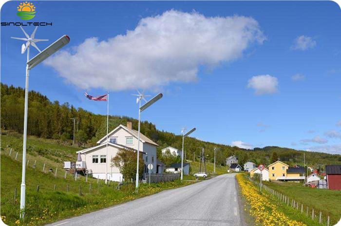 Hibrida surya dan angin lampu jalan (5)